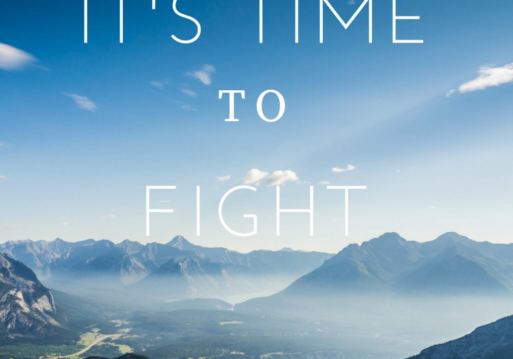It's time to fight!